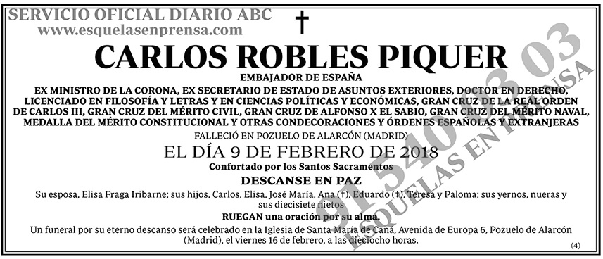 Carlos Robles Piquer